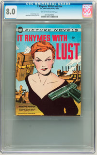 It Rhymes With Lust #nn (St. John, 1950) CGC VF 8.0 Off-white to white pages