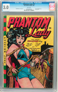 Golden Age (1938-1955):Superhero, Phantom Lady #17 (Fox Features Syndicate, 1948) CGC GD/VG 3.0 Pinkpages....