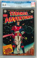 Golden Age (1938-1955):Science Fiction, Strange Adventures #9 (DC, 1951) CGC VF+ 8.5 Off-white to whitepages....