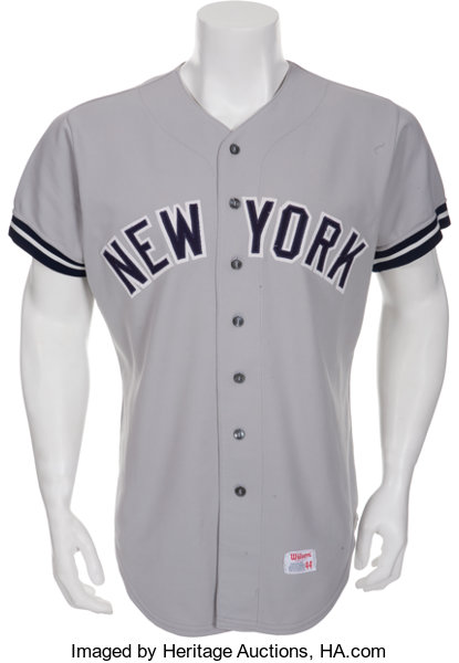quality design 8808b c5a9e 1977 Reggie Jackson World Series Game Five Worn New York ...