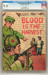 Blood Is the Harvest #nn (Catechetical Guild, 1950) CGC NM 9.4 Off-white to white pages