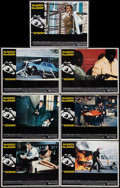 "Movie Posters:Action, The Getaway (National General, 1972). Lobby Cards (7) (11"" X 14"").Action.. ... (Total: 7 Item)"