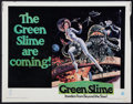 """Movie Posters:Science Fiction, The Green Slime (MGM, 1969). Half Sheet (22"""" X 28""""). ScienceFiction.. ..."""