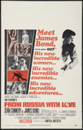 """Movie Posters:James Bond, From Russia with Love (United Artists, 1964). Window Card (14"""" X22""""). James Bond.. ..."""