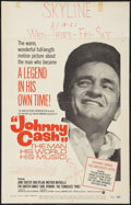 "Movie Posters:Documentary, Johnny Cash! The Man, His World, His Music Lot (Continental, 1969). Window Cards (2) (14"" X 22""). Documentary.. ... (Total: 2 Items)"