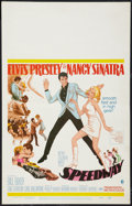 "Movie Posters:Elvis Presley, Speedway (MGM, 1968). Window Card (14"" X 22""). Elvis Presley.. ..."