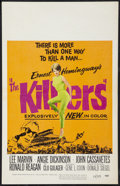 """Movie Posters:Crime, The Killers (Universal, 1964). Window Card (14"""" X 22""""). Crime.. ..."""