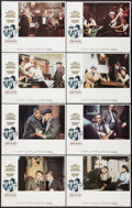 """Movie Posters:Crime, The Sting (Universal, 1973). Lobby Card Set of 8 (11"""" X 14"""").Crime.. ... (Total: 8 Items)"""