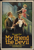 "Movie Posters:Drama, My Friend the Devil (Fox, 1922). One Sheet (27"" X 41""). Drama.. ..."