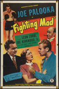 """Movie Posters:Sports, Fighting Mad (Monogram, 1948). One Sheet (27"""" X 41""""). Sports.. ..."""
