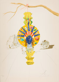 THE COLLECTION OF PAUL GREGORY AND JANET GAYNOR  SALVADOR DALÍ (Spanish, 1904-1989) American Clock (Timel