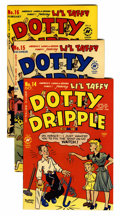 Golden Age (1938-1955):Humor, Dotty Dripple/Horace and Dotty File Copies Group (Harvey, 1950-55) Condition: Average VF/NM.... (Total: 28 Comic Books)