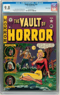 Golden Age (1938-1955):Horror, Vault of Horror #19 Gaines File pedigree 5/12 (EC, 1951) CGC NM/MT9.8 Off-white to white pages....