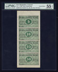 Obsoletes By State:New Hampshire, Concord, NH- State Capital Bank 5¢-10¢-25¢-50¢ Uncut Sheet. ...