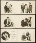 "Movie Posters:Drama, Poverty of Riches (Goldwyn, 1921). Title Lobby Card and Lobby Cards(5) (11"" X 14""). Drama.. ... (Total: 6 Items)"