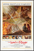 "Movie Posters:Animated, The Lord of the Rings (United Artists, 1978). International OneSheet (27"" X 41""). Animated.. ..."
