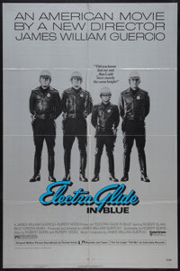 "Electra Glide in Blue (United Artists, 1973). One Sheet (27"" X 41"") Style A. Cult Classic"