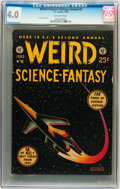 Golden Age (1938-1955):Science Fiction, Weird Science-Fantasy Annual #2 (EC, 1953) CGC VG 4.0 Off-whitepages....