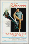 "Movie Posters:Crime, Thunderbolt and Lightfoot (United Artists, 1974). One Sheet (27"" X 41"") Style C. Crime.. ..."