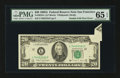 Error Notes:Foldovers, Fr. 2076-L $20 1988A Federal Reserve Note. PMG Gem Uncirculated 65EPQ.. ...