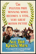 "Movie Posters:Academy Award Winners, All the King's Men (Columbia, 1949). One Sheet (27"" X 41""). AcademyAward Winners.. ..."