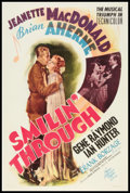"Movie Posters:Romance, Smilin' Through (MGM, 1941). One Sheet (27"" X 41""). Style C. Romance.. ..."