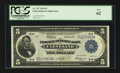 Fr. 787 $5 1918 Federal Reserve Bank Note PCGS New 62