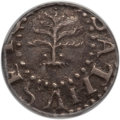 Colonials, 1652 3PENCE Pine Tree Threepence XF45 PCGS. CAC. Crosby 1-A1,Noe-34, W-630, R.4....