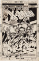 John Byrne and Terry Austin X-Men #116 Cover Original Art (Marvel, 1978)