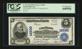National Bank Notes:Pennsylvania, Uniontown, PA - $5 1902 Plain Back Fr. 609 The Uniontown NB &TC Ch. # 12500. ...