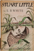"""Books:Children's Books, E. B. White. Stuart Little. New York: Harper & Brothers,[1945]. First edition with """"First Edition I-U"""" on the c..."""