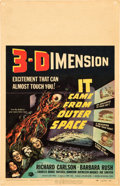 """Movie Posters:Science Fiction, It Came from Outer Space (Universal International, 1953). WindowCard (14"""" X 22""""). 3-D Style.. ..."""