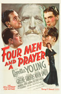"Movie Posters:Adventure, Four Men and a Prayer (20th Century Fox, 1938). One Sheet (27"" X41""). Style B.. ..."