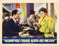 "Movie Posters:War, Across the Pacific (Warner Brothers, 1942). Lobby Card (11"" X14"").. ..."