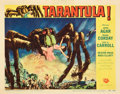 "Movie Posters:Science Fiction, Tarantula (Universal International, 1955). Lobby Card (11"" X 14"")....."