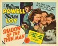 "Movie Posters:Mystery, Shadow of the Thin Man (MGM, 1941). Title Lobby Card (11"" X 14"")....."