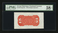 Fractional Currency:Third Issue, Fr. 1273SP 15¢ Third Issue Wide Margin Back PMG Choice About Unc 58 EPQ.. ...