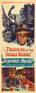 "Movie Posters:Drama, The Treasure of the Sierra Madre (Warner Brothers, 1948). Insert(14"" X 36"").. ..."