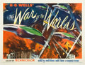"Movie Posters:Science Fiction, The War of the Worlds (Paramount, 1953). Half Sheet (22"" X 28"").Style B.. ..."