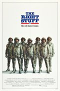 "Movie Posters:Adventure, The Right Stuff (Warner Brothers, 1983). One Sheet (27"" X 41"").Advance.. ..."
