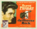 "Movie Posters:Elvis Presley, Jailhouse Rock (MGM, 1957). Half Sheet (22"" X 28""). Style A.. ..."
