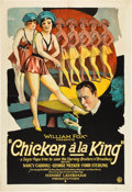 "Movie Posters:Comedy, Chicken a la King (Fox, 1928). One Sheet (27"" X 41"").. ..."