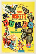 "Movie Posters:Animation, Dumbo (RKO, 1941). One Sheet (27"" X 41""). Style A.. ..."