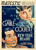 "Movie Posters:Academy Award Winners, It Happened One Night (Columbia, 1934). Pre-War Belgian (23.5"" X33.5"").. ..."