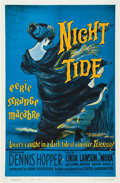 "Movie Posters:Horror, Night Tide (American International, 1963). One Sheet (27"" X 41"").Style B.. ..."
