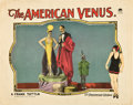"Movie Posters:Comedy, The American Venus (Paramount, 1926). Lobby Card (11"" X 14"").. ..."