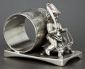 Silver Holloware, American:Napkin Rings, AN AMERICAN SILVER PLATED FIGURAL NAPKIN RING . Middletown PlateCo., Middletown, Connecticut, circa 1875. Marks: MIDDLETO...