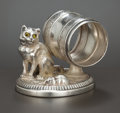 Silver Holloware, American:Napkin Rings, AN AMERICAN SILVER PLATED FIGURAL NAPKIN RING . Rogers & Bro.,Waterbury, Connecticut, circa 1880. Marks: ROGERS & BRO.,T...