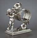 Silver Holloware, American:Napkin Rings, AN AMERICAN SILVER PLATED FIGURAL NAPKIN RING . Simpson, Hall,Miller & Co., Wallingford, Connecticut, circa 1875. Marks:...