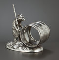 Silver Holloware, American:Napkin Rings, AN AMERICAN SILVER PLATED FIGURAL NAPKIN RING . Pairpoint Mfg. Co.,New Bedford, Massachusetts, circa 1875. Marks: PAIRPOI...